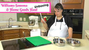 amy s kitchen coupons kitchen u0026 cookware shopping haul unboxing williams sonoma outlet