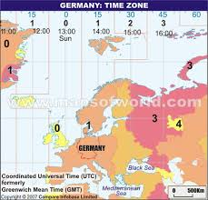 utc zone map germany zone map current local in germany