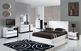Black And White Bedroom Ideas Interior Home Design