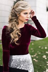latest holiday wood hairstyles 35 wonderful hairstyle ideas for christmas and holidays