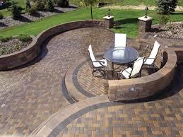patio ideas cute paver patio designs patterns about interior