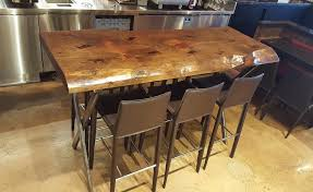 Wooden Bar Table Catchy Wooden Bar Table With Wooden Reclaimed Wood Bar Tables