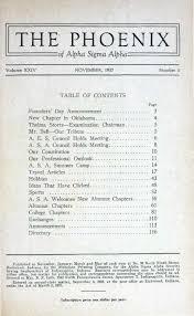 asa phoenix vol 24 no 1 nov 1937 by alpha sigma alpha sorority issuu