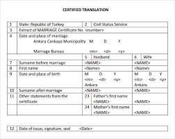 sample marriage certificate template 18 documents in pdf word