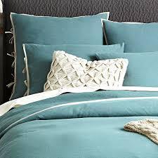 Blue Linen Bedding - 5 easy bedroom makeover ideas