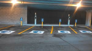 gallery of electric vehicle charging station installations