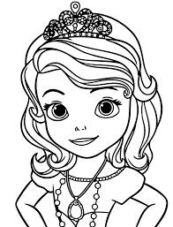 sofia disney princess funycoloring