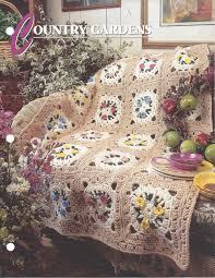 country gardens annie u0027s crochet quilt u0026 afghan crochet