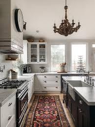 black island and white cabinets kitchen farmhouse kitchen reveal tour my parents kitchen the