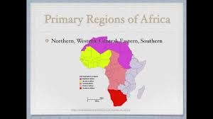 World Regions Map by World Regions Africa Youtube