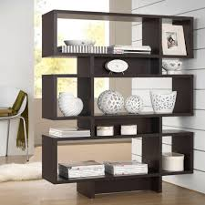 Dark Wood Bookshelves by Home Styles Five Shelf 38 In W X 76 In H X 16 In D Wood And