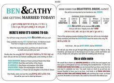 create a wedding program free printable wedding programs templates the template is