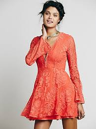 free people reign over me lace dress lace overlays and free people