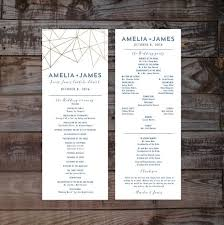 program for wedding ceremony template best 25 wedding program templates ideas on diy