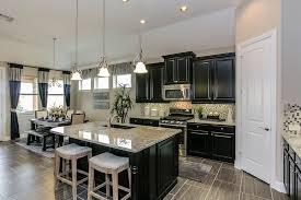 Gehan Floor Plans Gehan Homes Kitchen Black Cabinets Light Granite Counter Tops