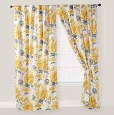 yellow and grey curtain panels home design ideas