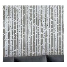 birch tree wallpaper houzz