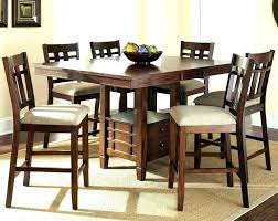 bar height table set counter height round table and chairs round glass counter height
