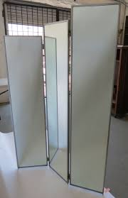 decorating glass room dividers folding divider mirrored room