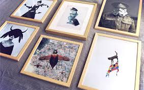tipps für wandgestaltung wandgestaltung 4 tipps picture walls wooden frames and walls