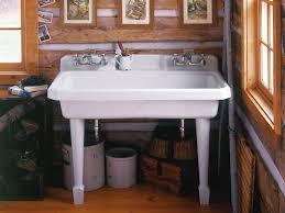 Bathroom Wall Mounted Sinks Bathroom Home Depot Wall Mount Sink Slop Sink Kohler Utility Sink