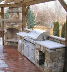 small outdoor kitchen space jacki mallick designs llc garden