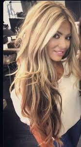 gorgeous hair i love the pretty brown color with love how striped and chunky this color is at the top hair envy