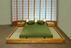Simple And Elegant Beds Japanese Furniture Oriental Japanese - Japanese home furniture