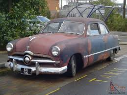 1949 ford tudor original 2 door rod beautiful patina mot taxed