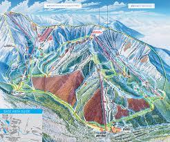China Peak Map by Taos Ski Valley Skimap Org