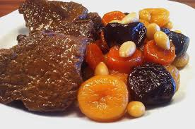 christmas nuts amazing christmas veal stew garnished with fruit nuts my