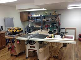 home workshop plans basement enchanting basement workbench inspirations basement