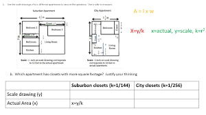 Computing Square Footage by Classwork Examples Exploring Area Relationships 2 12 Square Units