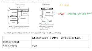 Classwork Examples Exploring Area Relationships 2 12 Square Units