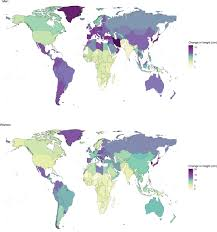 a century trends in human height elife