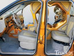 Dodge Ram Seat Upholstery 2002 Dodge Ram Custom Trucks Xplizit Car Club Truckin U0027 Magazine
