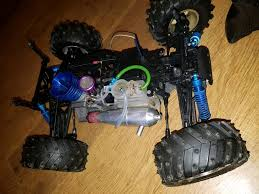 conquistador nitro rc monster truck nitro monster truck upgraded in melton mowbray leicestershire
