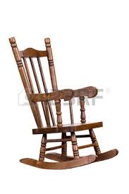 Wood Rocking Chair Old Wooden Rocking Chair Stock Photo Picture And Royalty Free