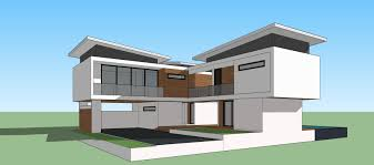 sketchup pro 2015 create modern house youtube