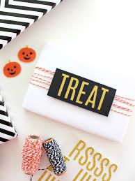 Halloween Gift Wrap - black white u0026 gold halloween gift wrapping ideas home white
