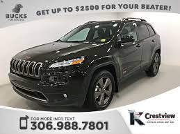 jeep patriot 2017 sunroof used 2017 jeep cherokee 75th anniversary 4x4 v6 heated seats and