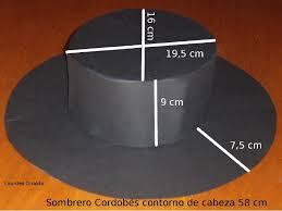como hacer un sombrero de carton sombrero cordobés