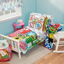 Yo Gabba Gabba Bed Set Yo Gabba Gabba 10 Toddler Bedding Set Walmart
