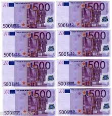 Money Cake Decorations 8 500 Euro Note Design Cupcake Decorations Edible Cake Toppers Pre