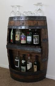 Home Bar Cabinet Designs Whiskey Barrel Liquor Cabinet Best Home Furniture Decoration