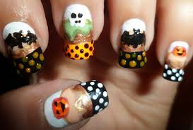 simple halloween nail art designs u2013 slybury com