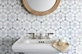 patterned tile bathroom patterned bathroom tiles via simply grove simply grove