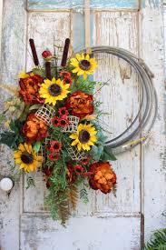 Country Western Home Decor Gypsyfarmgirl New Lariat And Fall Wreaths