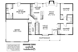 Open Ranch Floor Plans Ranch House Plans Glenwood 42 015 Associated Designs