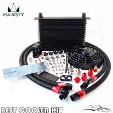 oil cooler fan kit 15 row trust oil cooler thermostat sandwich plate kit 7 electric